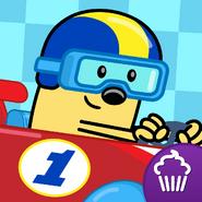 Wubbzy's Racecar App Icon (Untrimmed)