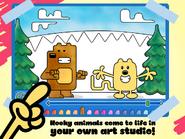 Wubbzy's Animal Coloring Book (iPad) 2