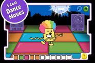 Disco Dancin' Wubbzy App (iPhone) 4