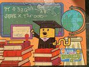 Wubbzy Puzzle - Graduate (Completed Puzzle)