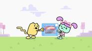 Wubbzy and Daizy Fight Over Train Set