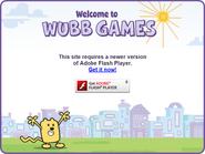 Adobe Flash Player Requiring Screen