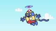 AWiB - Wubbzy Flying Over the Wubb Girlz