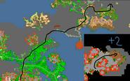 Mapa boss mutanted