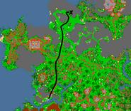 Mapa boss vywern