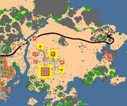 Mapa boss bonebeast