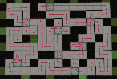 как сделать все блоки зелеными.