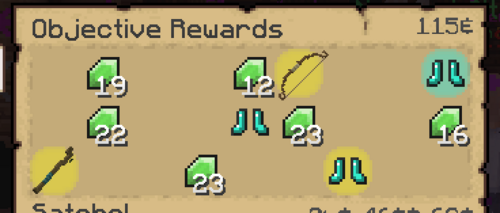 Reward for completing Gather 25 Fish as Level 85