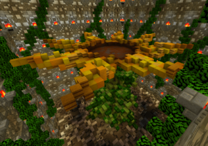 The sunflower room's arena