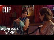 Waverly Talks To A Stripper Cupid - Wynonna Earp - SYFY