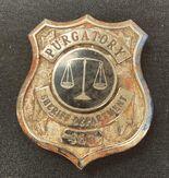 Purgatory Sheriff Badge