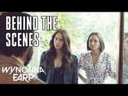 """""""The Chicken-Kicking Is A Metaphor"""" -BEHIND THE SCENES- - Wynonna Earp - SYFY"""