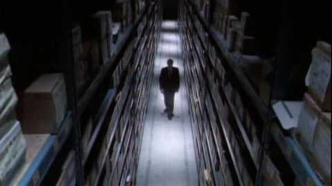X-Files Pilot, Final Scene
