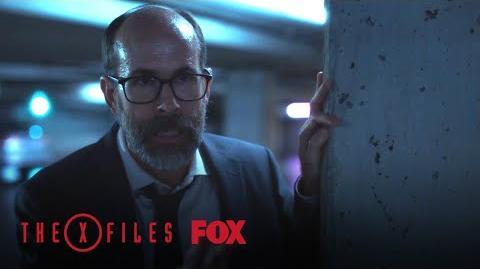 A Stranger Confronts Mulder Season 11 Ep