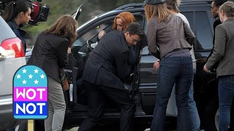The X-Files Behind The Scenes Scully's Car Crash