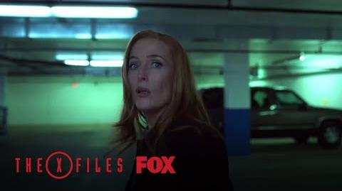 Scully Meets With The Stranger Season 11 Ep