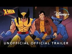 X-Men- The Animated Series - Unofficial Official Trailer - Disney+