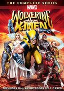 Wolverine and the X-Men DVD cover