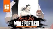 X-Men Comic Book Artist Whilce Portacio Sketches Bishop (Artists Alley) SYFY WIRE