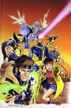 Xmen VHS art