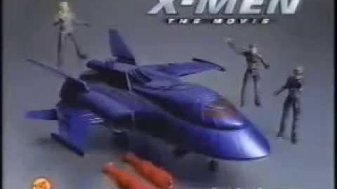 X-Men The Movie X-Jet Toy Ad (2000)