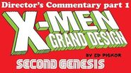 Director's Audio Commentary X-Men Grand Design- Second Genesis issue 1