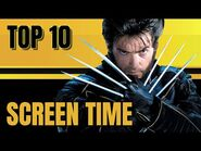 X MEN Characters with more Screen Time