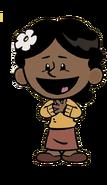 Rosa happy