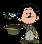 Charlie Chaplin render