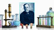 Louis Pasteur Title Card