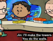 Jin will make towers