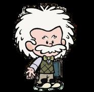Albert Einstein render