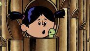 Yadina in a pipe