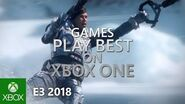 Xbox One – E3 2018 Games Montage – Official Trailer