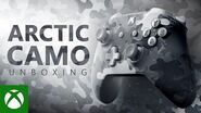Unboxing Xbox Arctic Camo Special Edition Wireless Controller