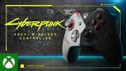 Introducing the Cyberpunk 2077 Limited Edition Xbox Wireless Controller
