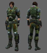 Concept - Soldier female