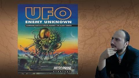 "Gaming History UFO Enemy Unknown X-COM UFO Defense ""A Sacred Monster"""