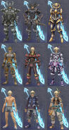 Compilation Armor Shulk