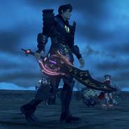 XC2 Malos' weapon 6