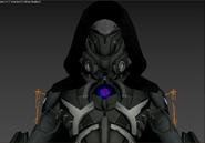Black Knight model close-up