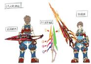 Rex and Aegis Concept Art