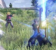Shield Combat (Zeke)
