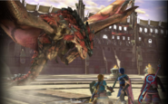 SSBU Shulk vs Rathalos