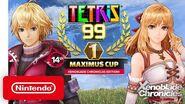 Tetris® 99 - 14th MAXIMUS CUP Gameplay Trailer - Nintendo Switch