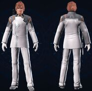 Vanguard Officer Clothes Male Version
