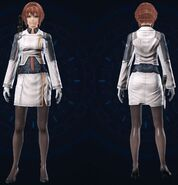 Vanguard Officer Clothes