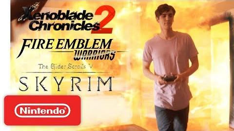 Xenoblade Chronicles 2, Skyrim & Fire Emblem Warriors - 'Close Call' - Nintendo Switch
