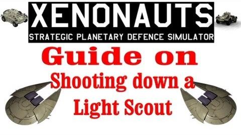 Xenonauts tutorial - Guide on shooting down a Light scout