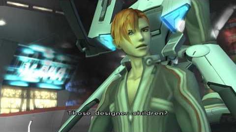 Xenosaga Episode II HD Cutscene 02 - E.S